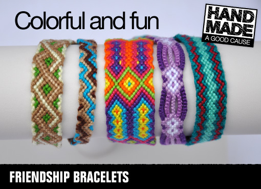 Woven Joy Friendship Bracelets
